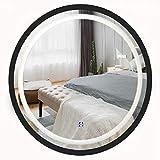 Bathroom Mirrors Wand befestigte Vanity Badezimmer Spiegelschrank mit Beleuchtung LED-Spiegel mit...