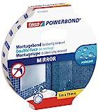 tesa Powerbond Mirror (Doppelseitiges Montageband zur Fixierung von Spiegeln,...