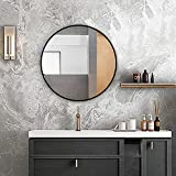 HF Home Feeling Premium Spiegel Rund 60 cm - vielseitig Einsetzbar Dank schönem Design - Eleganter...