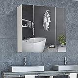 DICTAC spiegelschrank Bad Badezimmer spiegelschrank 70 x 15 x 60cm (B x T x H) 70 cm breit...
