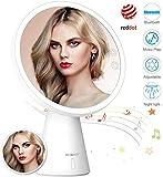 BESCHOI 3-in-1 Kosmetikspiegel mit Licht, Schminkspiegel mit LED Blendfreier Beleuchtung, 1X/5X...
