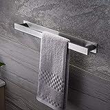 Ruicer Handtuchhalter Bad Ohne Bohren Handtuchstange Selbstklebend Badetuchhalter Edelstahl 40 cm